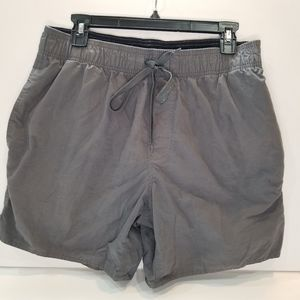 St. John's Bat Gray Swimsuit Trunks